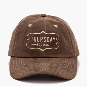 THURSDAY BOOT CO. DAD HAT OLIVE